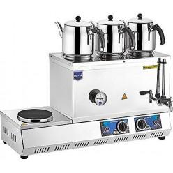 Remta 55 Model Elektrikli Üç Demlikli Kahveci Çay M- K32